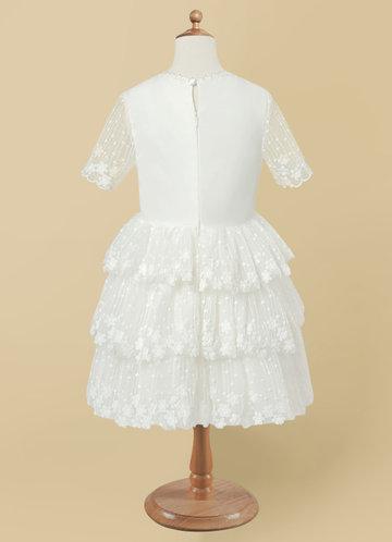back_Azazie Liya Flower Girl Dress
