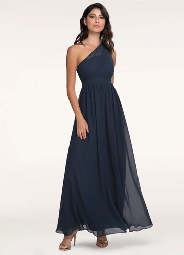 Blush Mark Magical Day dark navy Maxi Dress