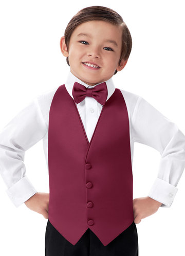 Gentlemen's Collection Boy's Matte Satin Vest