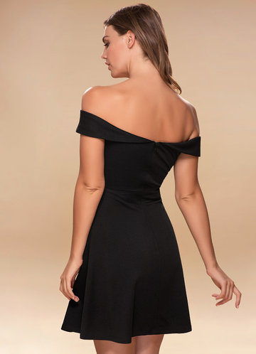 back_Blush Mark Perfect Match {Color} Skater Dress