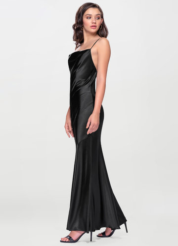 Forget Me Not Black Maxi Dress