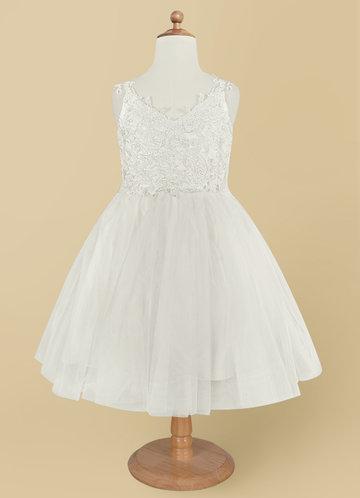 back_Azazie Ellison Flower Girl Dress