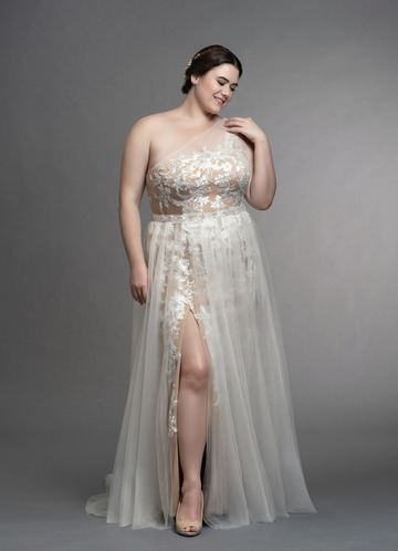 Azazie Elodie Wedding Dress