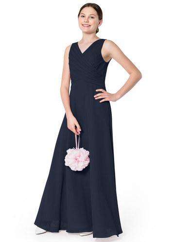 Azazie Flora Junior Bridesmaid Dress