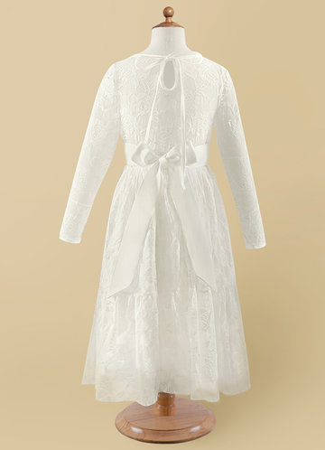 back_Azazie Agatha Flower Girl Dress