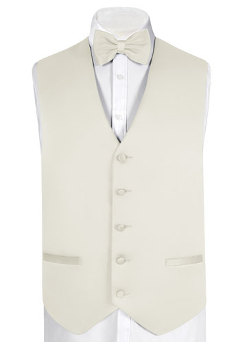 back_Gentlemen's Collection Matte Satin Vest