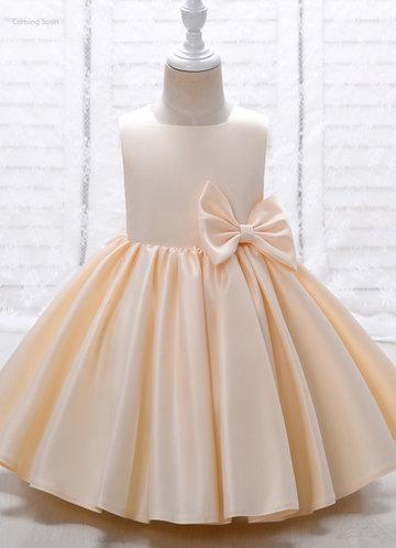 front_Azazie Lucy Flower Girl Dress