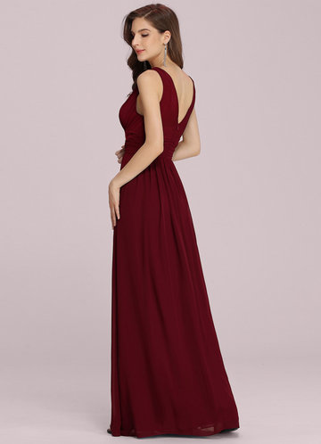 back_EVER-PRETTY Double V Neck Floral Print Dress