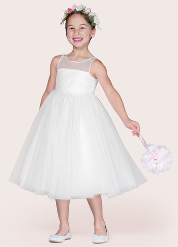 Azazie Brienne Flower Girl Dress
