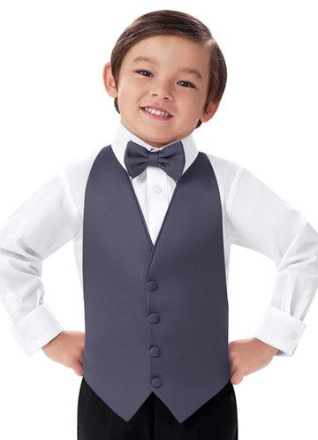front_Gentlemen's Collection Boy's Matte Satin Vest