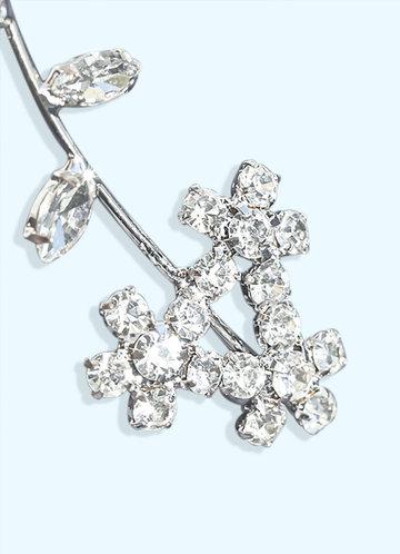 back_Daisy Floral Drop Earrings
