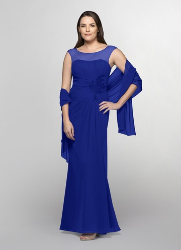 Azazie Azure Mother of the Bride Dress