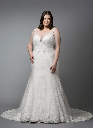 Azazie Amelie Wedding Dress