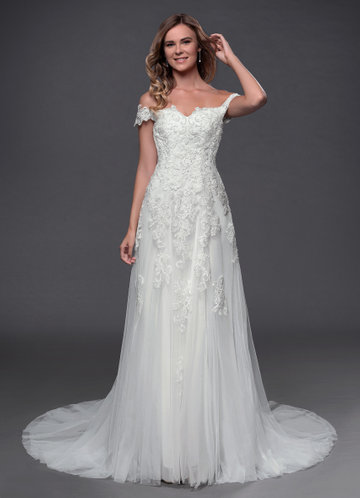 Azazie Adeline Wedding Dress