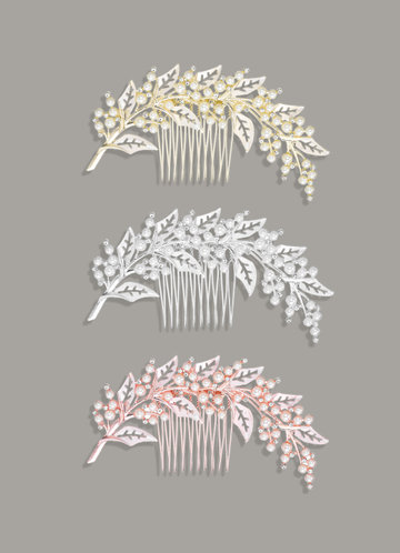 front_Fairytale Gilded Comb