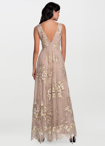 back_Romantic Adventure {Color} Embroidery Maxi Dress