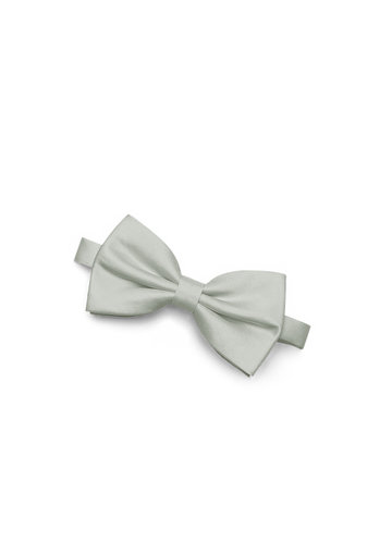 Gentlemen's Collection Men's Matte Satin pre-tied bow tie