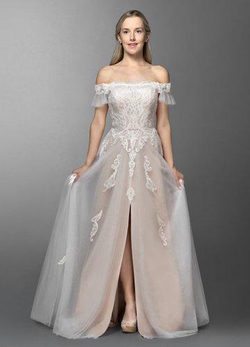 Azazie Lange Wedding Dress