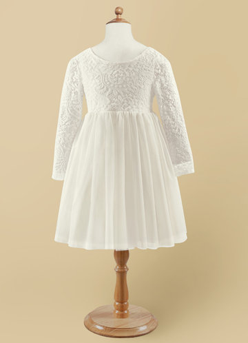 front_Azazie Vada Flower Girl Dress