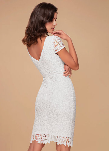 back_Blush Mark Heavenly Kiss {Color} Lace Bodycon Dress