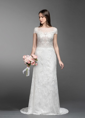 Azazie Peony Wedding Dress