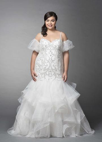 Azazie Dayami Wedding Dress