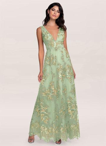 front_Blush Mark Romantic Adventure {Color} Embroidery Maxi Dress