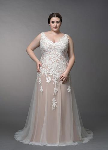 Azazie Bess Wedding Dress