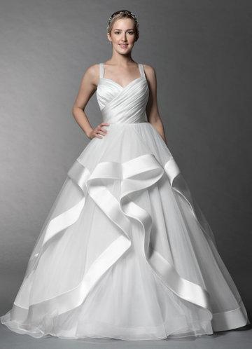 Azazie Lotus Wedding Dress
