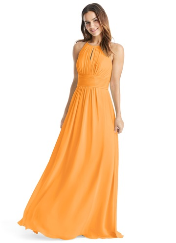 Orange Maid of Honor Dresses