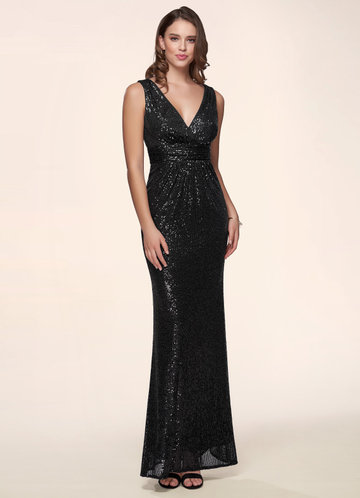The Perfect Gift Black Maxi Dress