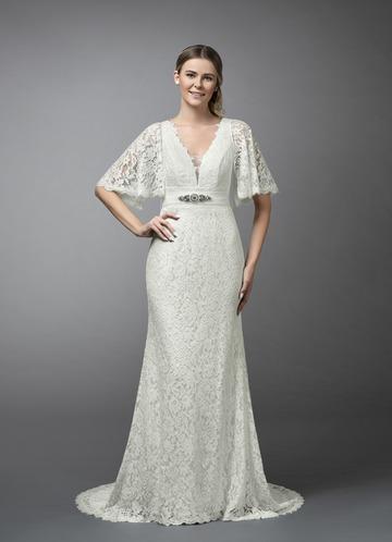 Azazie Cordelia Wedding Dress
