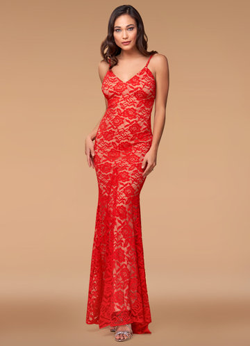 front_Blush Mark Plus Size Show Me Love Lace Maxi Dress