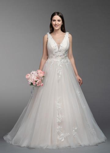 Azazie Gisele Wedding Dress