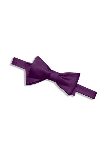 back_Gentlemen's Collection Matte Satin Bow Tie