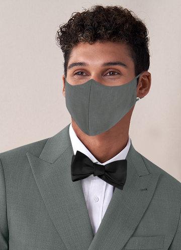 front_Azazie Men's Non-Medical Reusable Suiting-style Face Mask