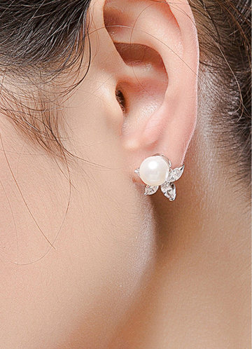 front_Adorn You Pearl Earrings