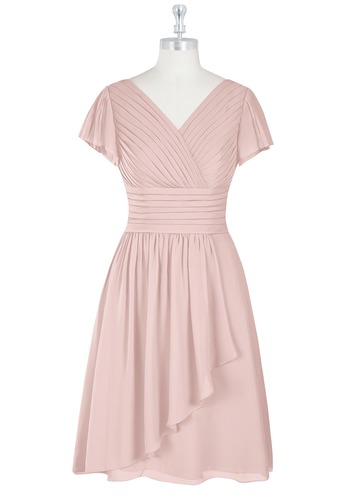 Azazie Luna Modest Bridesmaid Dress