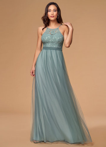 Romantic Memories Dusty Blue Maxi Dress