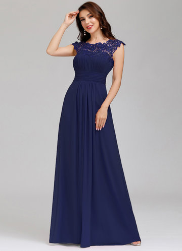 front_EVER-PRETTY Cut Out Back Lace Bodice Prom Dress
