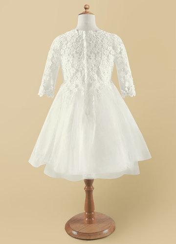 back_Azazie lindsay Flower Girl Dress