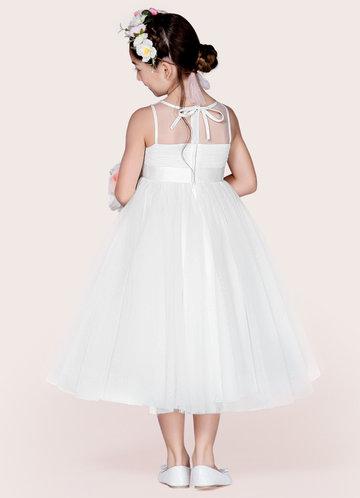back_Azazie Ayperi Flower Girl Dress