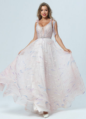 front_AZ Ethereal Summer Prom Dress