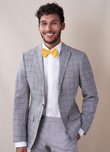 front_Gentlemen's Collection Men's Matte Satin pre-tied bow tie