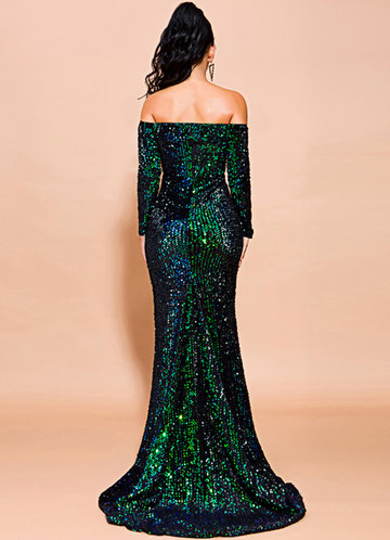 back_Missord Backless Sequin Mermaid Dress