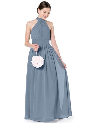 5842c206a99 Azazie Iman Junior Bridesmaid Dress ...