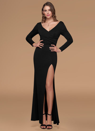 Catwalk Black Maxi Dress