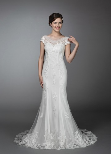 Azazie Elena Wedding Dress