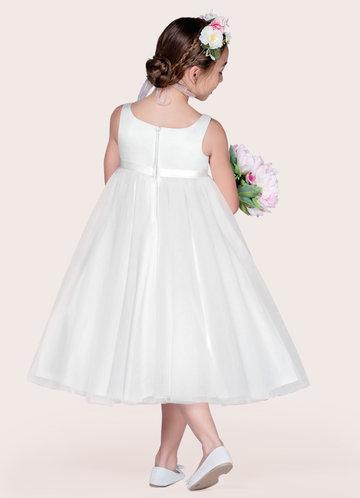 back_Azazie Lupine Flower Girl Dress