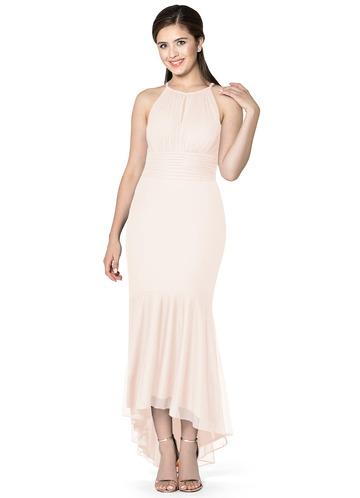 Azazie Snow Bridesmaid Dress